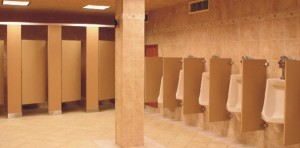 Partisi Cubicle Toilet